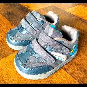 Cookie Monster Baby Boys Size 2W Shoes Sneakers